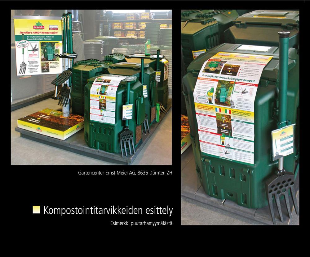 Kompostimullan Käyttö